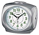 Casio TQ368/8 Wake-Up Timer Clock, Grey