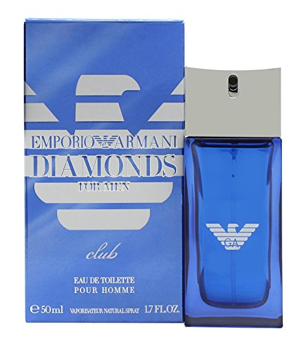 Emporio Armani Diamonds Club per uomo 2016 Edizione Limitata 50 ml Eau de Toilette Edt Spray