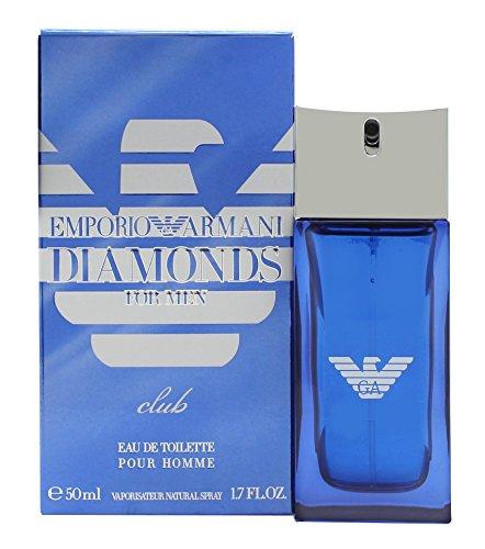 Emporio Armani Diamonds Club per uomo 2016Edizione Limitata 50ml Eau de Toilette Edt Spray