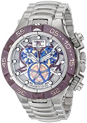 Invicta Men's 12906 Subaqua Analog Display Swiss Quartz Silver Watch