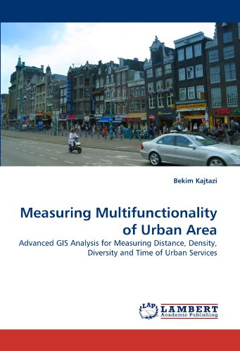 Measuring Multifunctionality of Urban Area: Advanced GIS Analysis for Measuring Distance, Density, Diversity and Time of