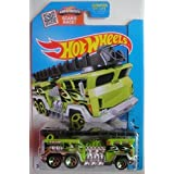 HOT WHEELS SHOWDOWN SCAN &RACE! HW CITY GREEN/BLACK 5 ALARM 51/250