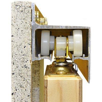 2610 wall mount barn door type sliding door hardware 48 for 48 inch barn door