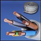 NYM-J 5x6 mm Preis je Meter! Kabel Installationsleitung Kunststoff Mantelleitung