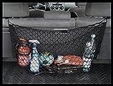 Organizador de malla negro robusto vehículo de calidad Premium tema Tronco carga neta de coche organizador