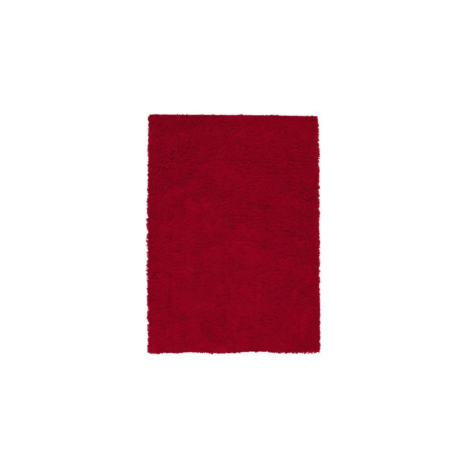 Shaw Really Red Shag Area Rug                                                               3 x 5