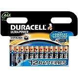 Duracell - Pile Alcaline - Duralock AAA x 12 Ultra Power (LR03)