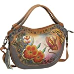 Anuschka Medium Convertible Expandable Hobo Incredible Ikat