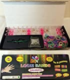 New 600 Multicolour Loom Bands Storage Box DIY Rubber Bracelets Twistz Bandz