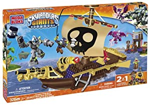Mega Bloks Skylanders Crusher's Pirate Quest