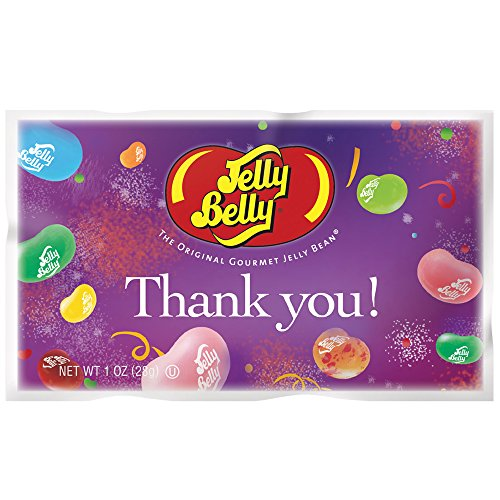 Jelly Belly Thank You Assorted Jelly Beans 1oz. Bags (Pack of 30) (Jelly Belly Thank You compare prices)