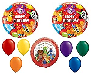 Baby einstein balloon decoration kit toys games for Baby einstein decoration