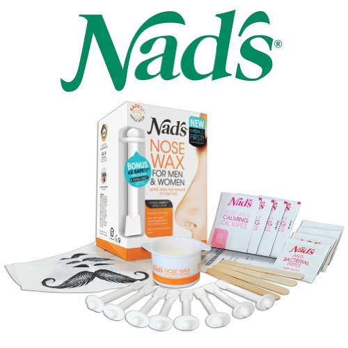 Nads Nose Hair & Blackhead Remover Wax For Men & Women Beauty Product Easy by Jitonrad (Nostril Wax compare prices)