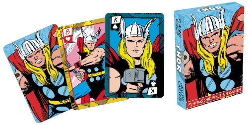 Marvel Thor Series 2 Comic Playing Cards