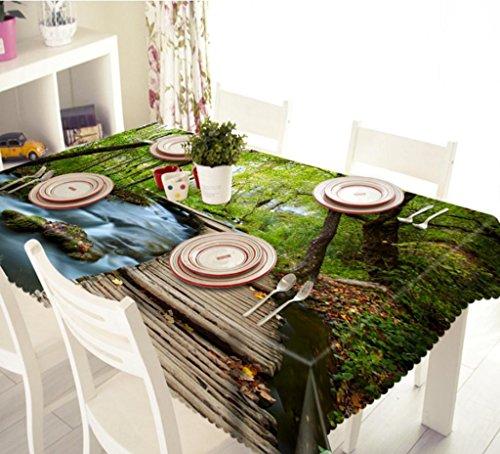 gymnljy 3d druck pers nlichkeit staubdicht tischdecke polyester waschbar sortiert gr e kaffee. Black Bedroom Furniture Sets. Home Design Ideas