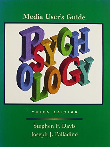 Psychology: Media User's Guide