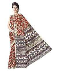 GiftPiper Kalamkari Saree in Cotton Silk -Multicolor 2