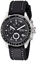 Fossil Decker Chronograph Analog Black Dial Men's Watch - CH2573