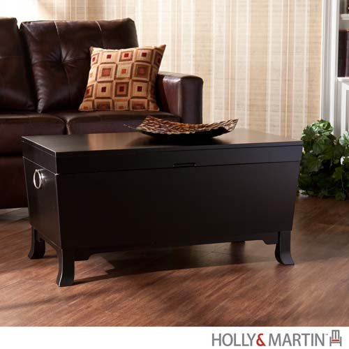 Hayden Cocktail Table Trunk - Black