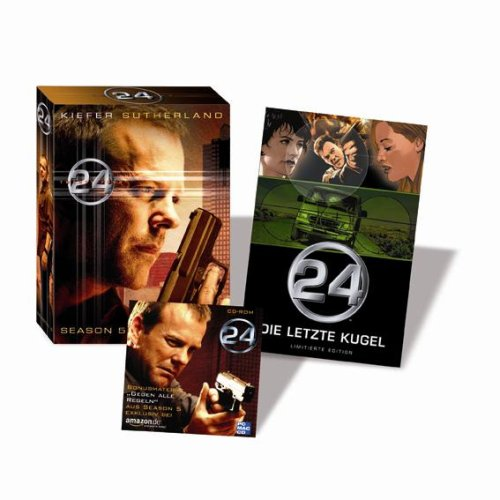 24 - Season 5 (7 DVDs) + ca. 25 Minuten exklusives Bonusmaterial CD-Rom + 52 Seiten Comic (exklusiv bei Amazon.de)