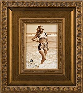 Girona Carved Gold Picture Frame, 4X6 FRAME, GOLD