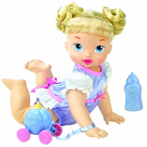 Disney Princess Baby Cinderella: Amazon.com: Disney My Baby Princess Crawl And Feed