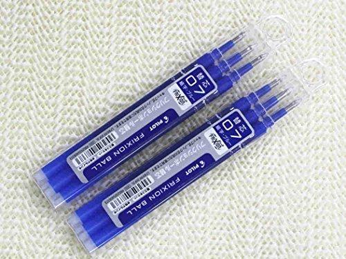 pilot-frixion-penna-con-inchiostro-gel-punta-07-mm-per-olfa-ricariche-di-colore-blu-confezione-da-3-