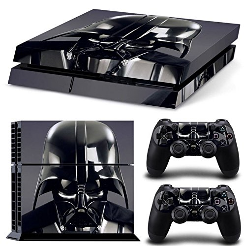 GoldenDeal-PS4-Console-and-DualShock-4-Controller-Skin-Set-Star-Warrior-PlayStation-4-Vinyl