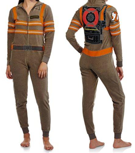 Ghostbusters Womens Union Suit Onesie Pajamas Halloween