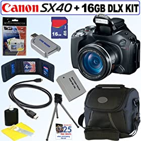 powershot sx40 hs 12.1mp digital camera with 35x wide