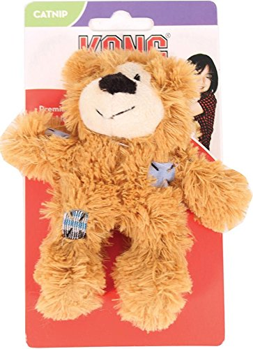 picture KONG Softies Patchwork Bear Catnip Toy