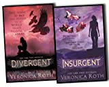 Veronica Roth Veronica Roth Insurgent Trilogy 2 Books Collection Pack Set (Divergent, Insurgent)