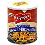 French's French Fried Onions, Original, 6-Ounce Can (Pack of 6)