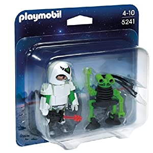 Playmobil Spaceman with Spy Robot Duo Pack 5241 4+