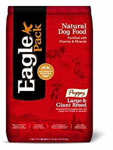 Eagle Pack Natural Pet Food, Large and Giant Breed Puppy Formula, 30-Pound Bag