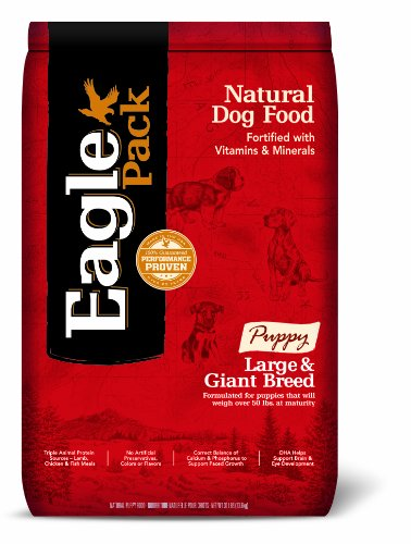 Eagle Pack Natural Pet Food, Large and Giant Breed Puppy Formula, 30-Pound Bag (Eagle Pack Large Breed Adult compare prices)