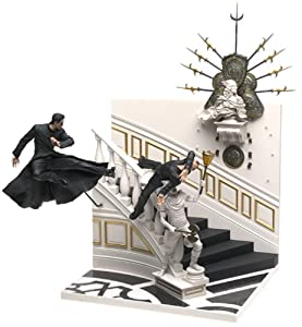 McFarlane Action Figures Matrix Series 1 Deluxe BoxedSet Neo Chateau Scene