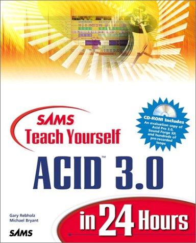 Sams Teach Yourself Acid 3.0 in 24 Hours