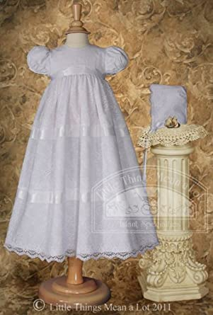 Layered Italian Venise Lace Christening Gown (6-12 Month)