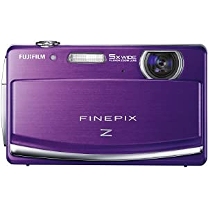 Fujifilm FinePix Z90 14 MP Digital Camera with Fujinon 5x Wide Angle Optical Zoom Lens and 3-Inch Touch-Screen LCD (Purple)