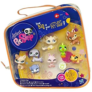 Littlest Pet Shop Collector's 8 Pack (8 Pets #1362 - # 1369)
