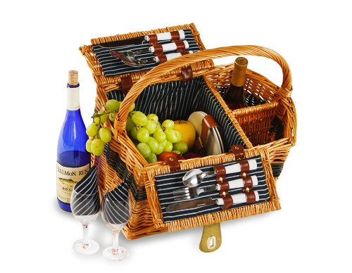 Best Price! Largo Two Person Picnic Basket (Natural)