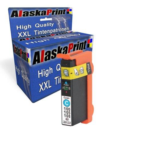Sparangebot 1x Druckerpatrone Tintenpatrone Ersatz für Lexmark 100 XL ( 1x Cyan) Ink Cartridge Original Manaserie