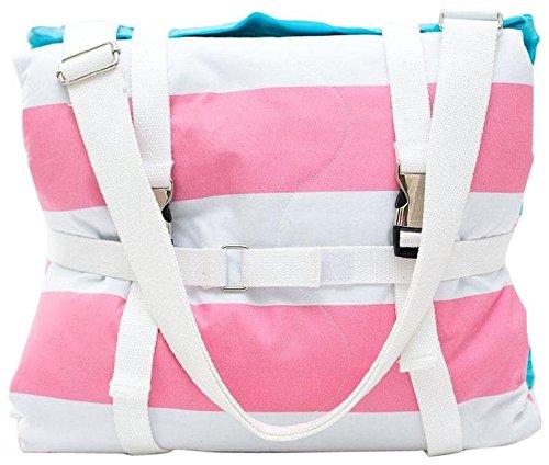 Palm Beach Crew Brilliant Blanket - Cabana Pink Stripes - 1