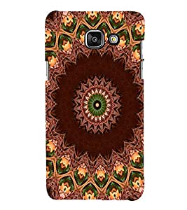 EPICCASE Symmetry Pattern Mobile Back Case Cover For Samsung Galaxy A3 (2016) (Designer Case)