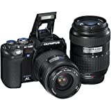 Olympus Evolt E500 8MP Digital SLR with 14-45mm f 3.5-5.6 & 40-150mm f 3.5-4.5 Zuiko Lenses