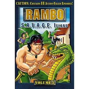 Rambo: Animated Series, Vol. 3 - S.A.V.A.G.E. Island movie