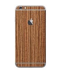 dbrand Zebra Wood Back Split Mobile Skin for Apple iPhone 6 Plus