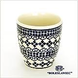 [Boleslawiec/ボレスワヴィエツ陶器]湯呑カップ-922-ポーリッシュポタリー