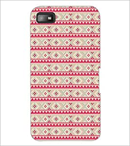 PRINTSWAG PINK PATTERN Designer Back Cover Case for BLACKBERRY Z10
